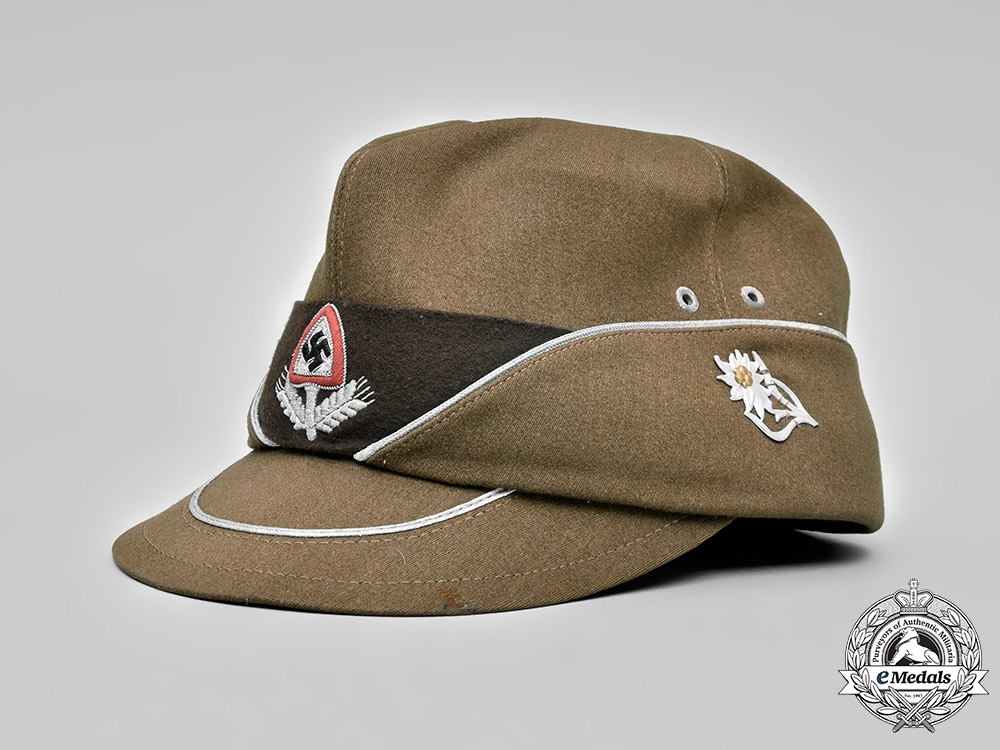 eMedals-Germany, RAD. A Reich Labour Service Officer's Cap, Austrian Issue