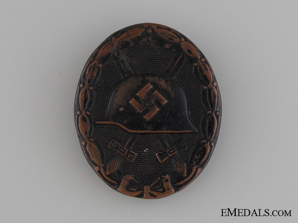 eMedals-Wound Badge - Black Grade & Marked