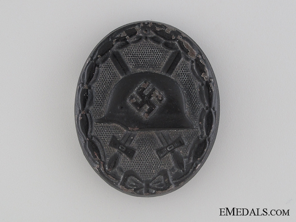 eMedals-Wound Badge - Black Grade