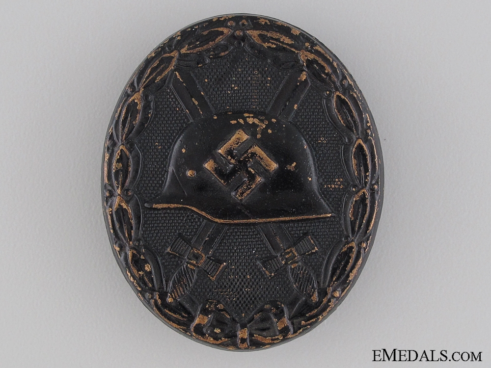 eMedals-Wound Badge; Black Grade