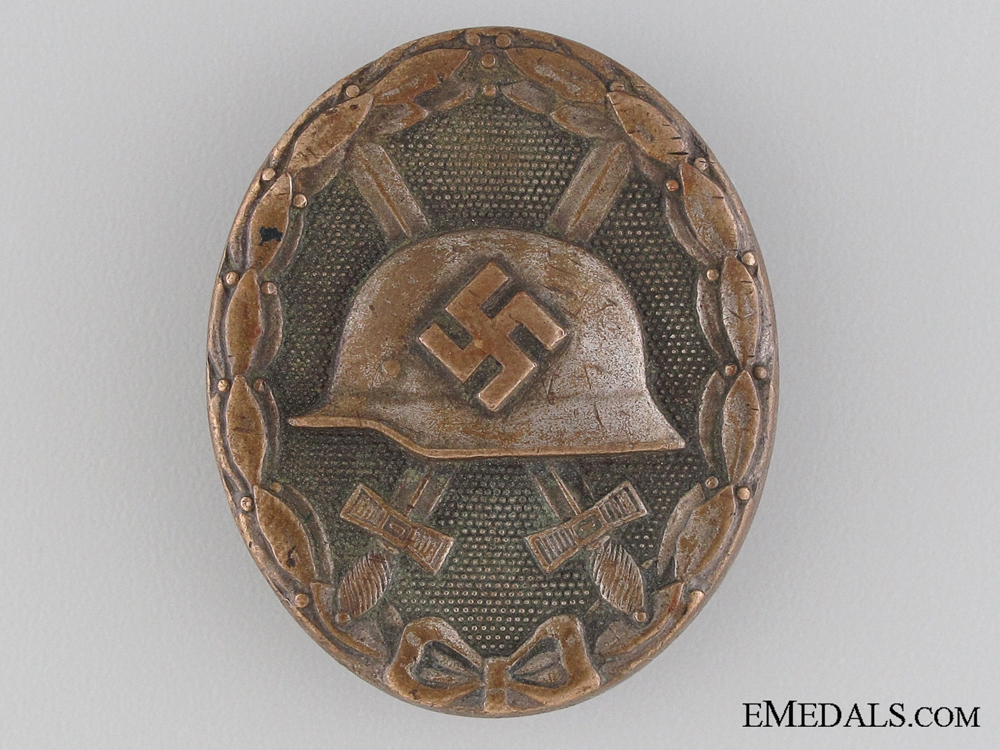 eMedals-Wound Badge; Silver Grade - Marked