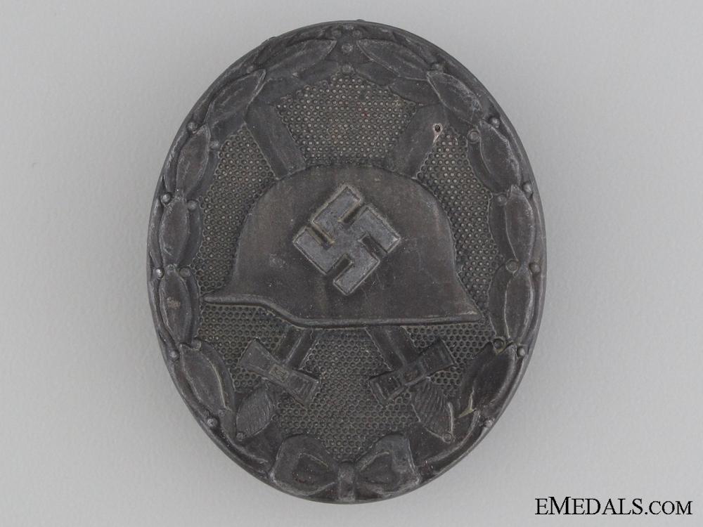 eMedals-Wound Badge; Silver Grade by Steinhauer & Lück