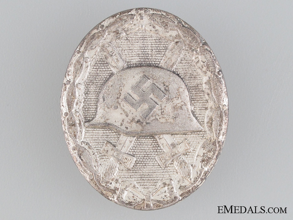 eMedals-Wound Badge Silver Grade by Maker L/53