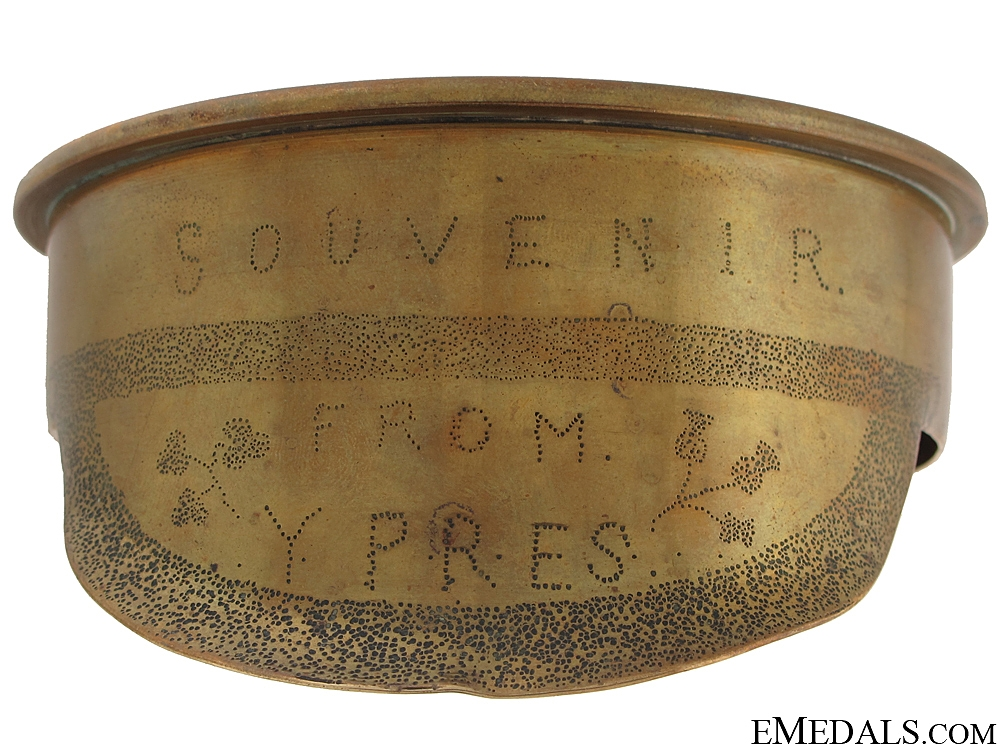 eMedals-WW1 Trench Art Officer's Cap