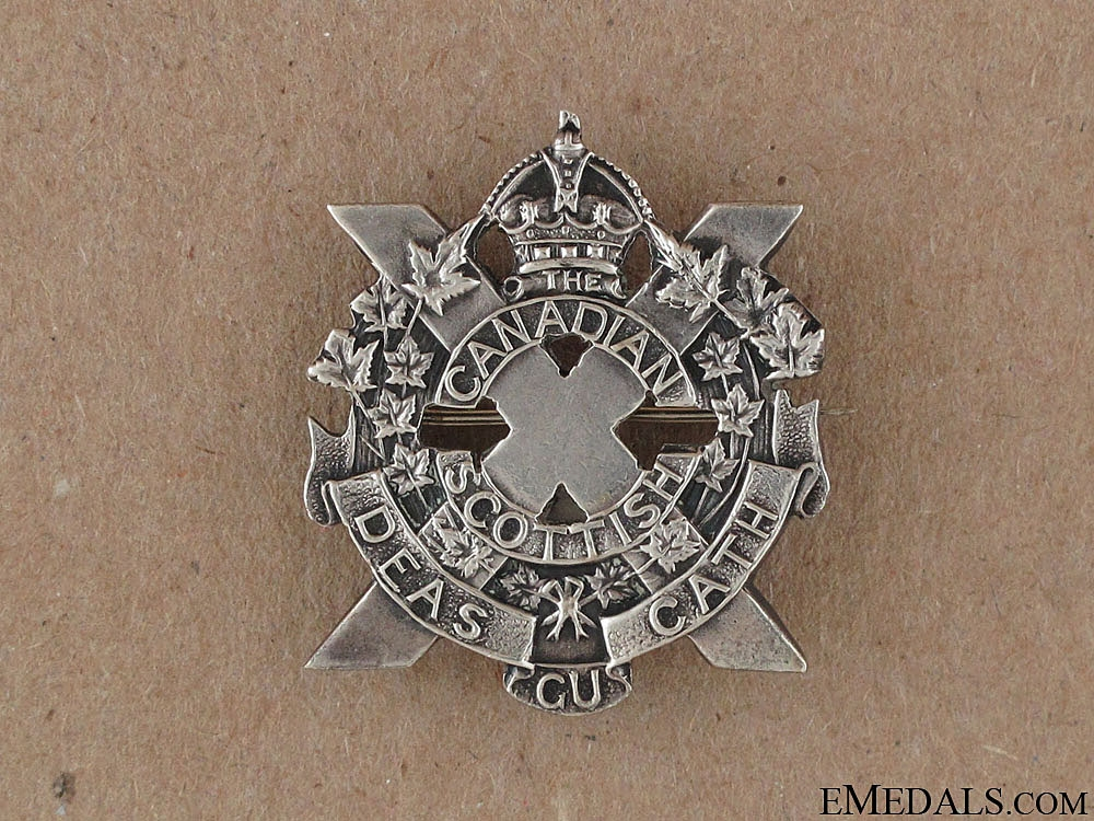 eMedals-WWI 16th Infantry Battalion Sweetheart Pin CEF