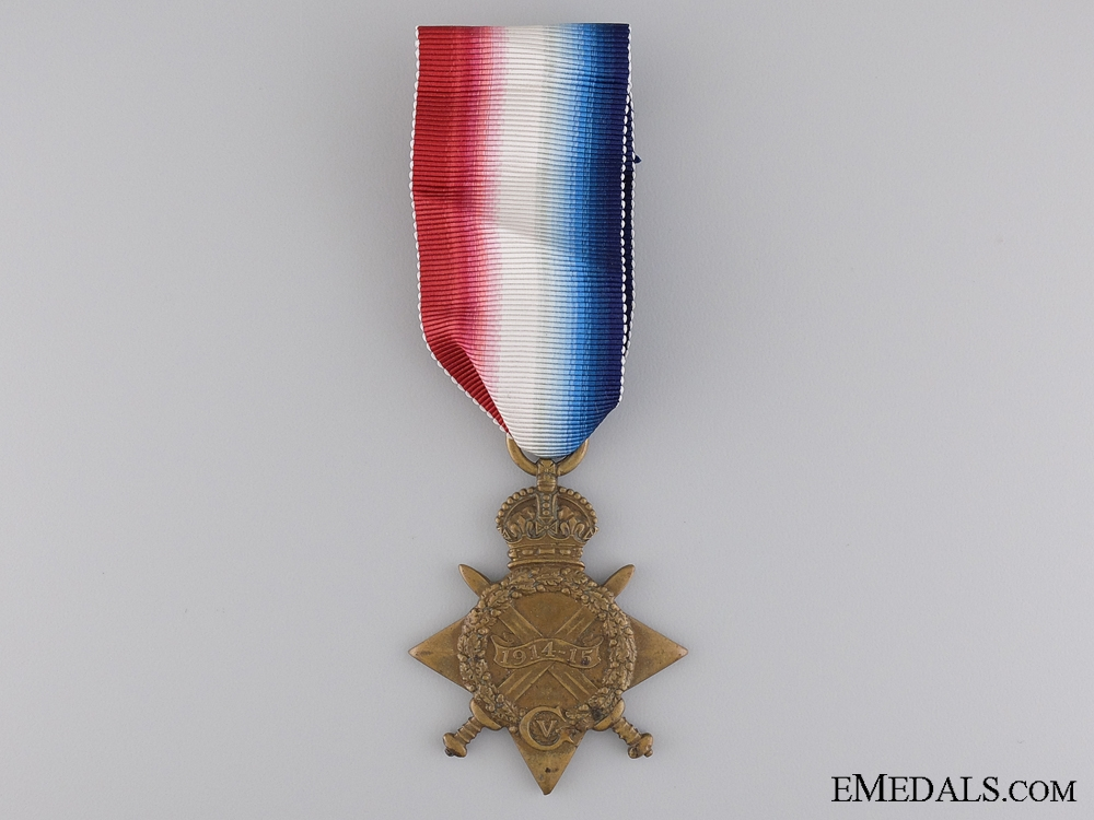 eMedals-WWI 1914-15 Star to the Royal Field Artillery