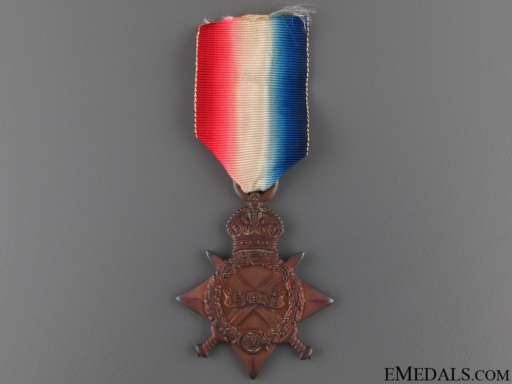 eMedals-WWI 1914/15 to L/Cpl Caston - 6th London Reg.