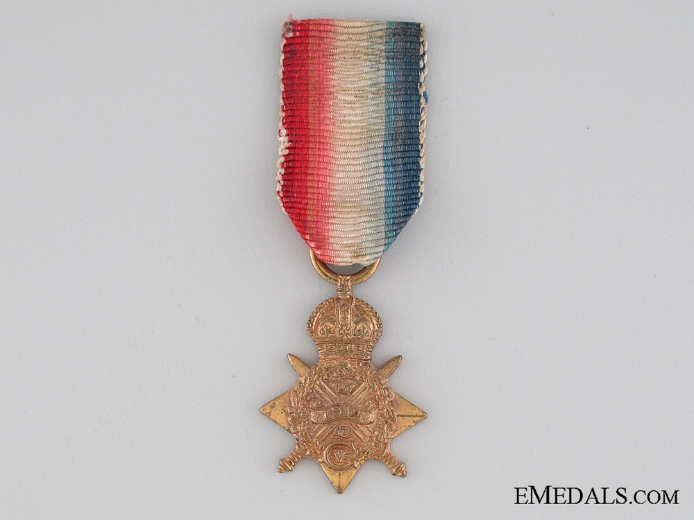 eMedals-WWI 1914 Mons Star