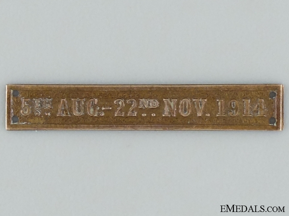 eMedals-WWI 1914 Star (AKA Mons Star) Clasp