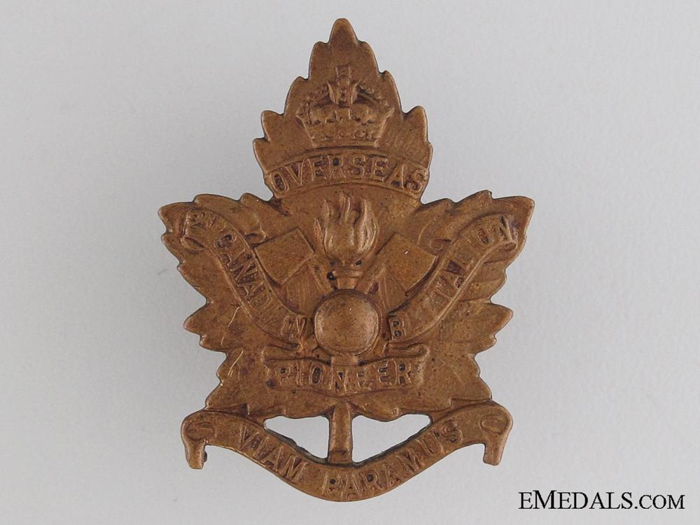 eMedals-WWI 2nd Pioneer Battalion Collar Tab CEF