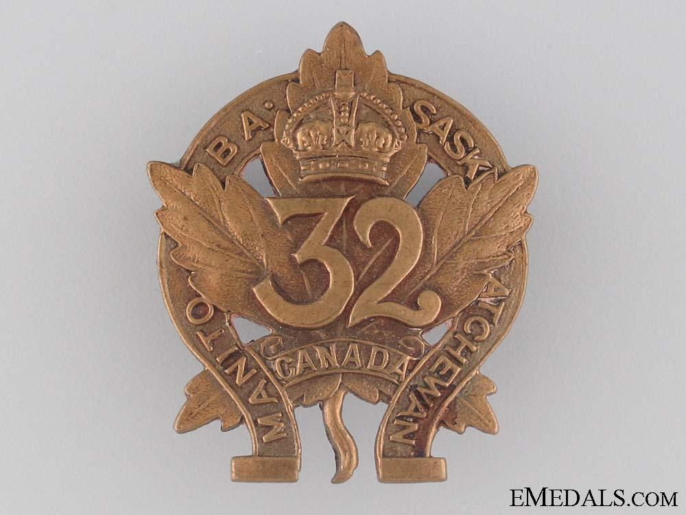 eMedals-WWI 32nd Infantry Battalion Collar Tab CEF