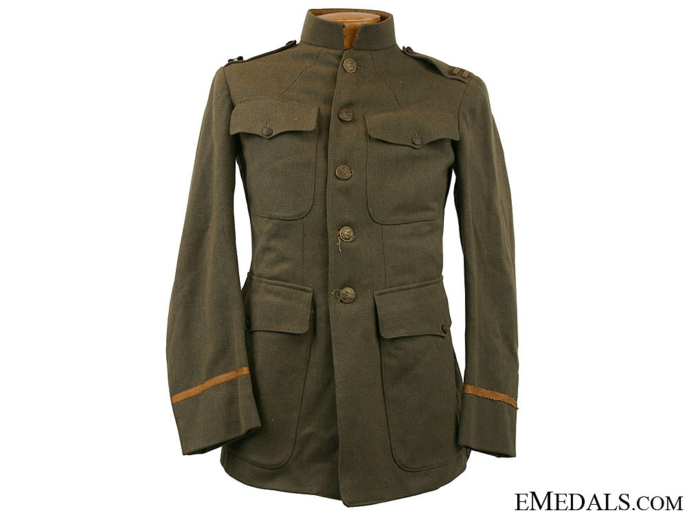 eMedals-WWI AEF Captain's Tunic