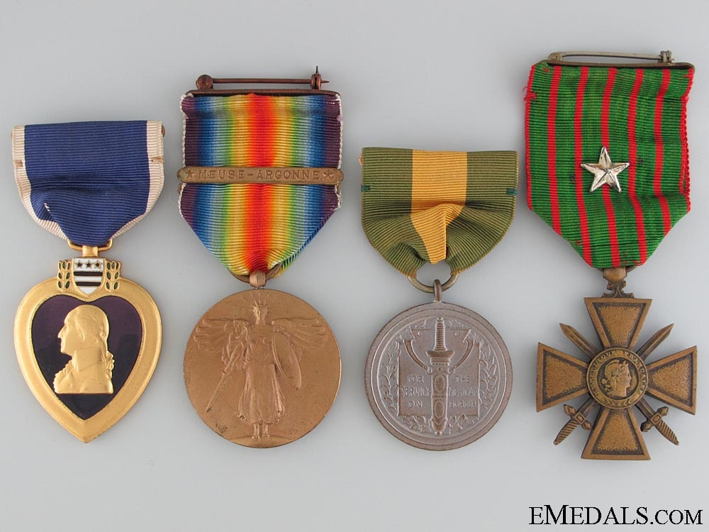 eMedals-A First War American KIA Group to the 304th Engineers