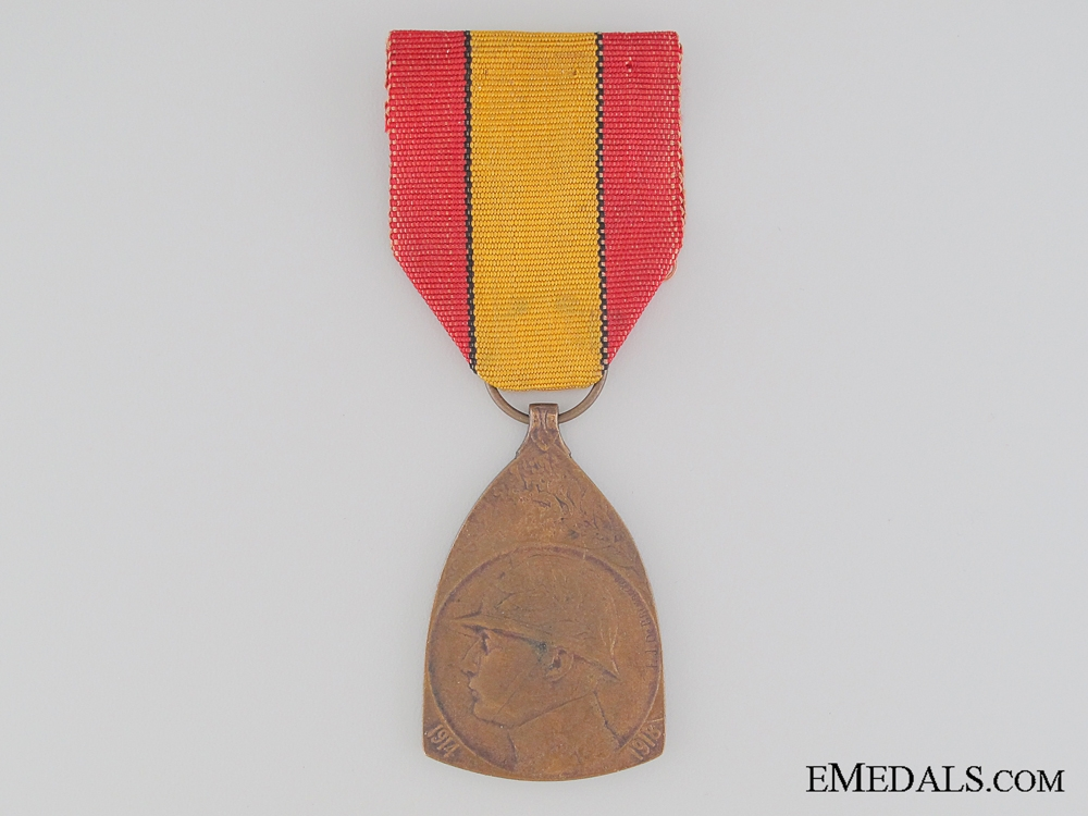 eMedals-WWI Belgian Commemorative War Medal 1914-1918