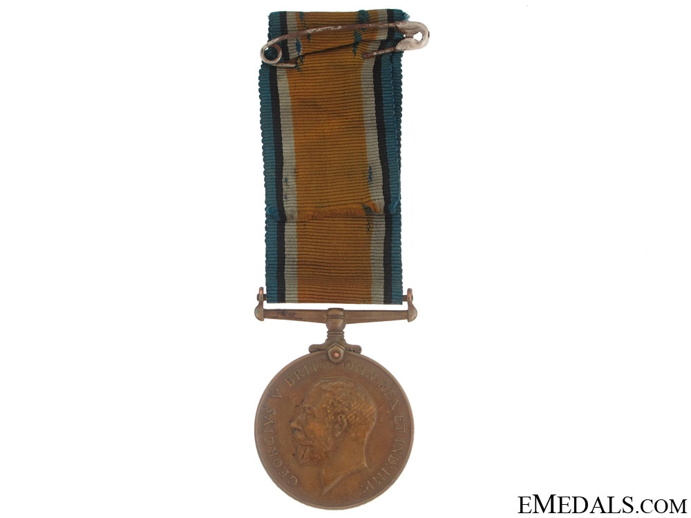 eMedals-WWI British War Medal, 1914-1920 - Bronze Issue