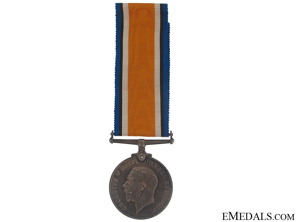eMedals-WWI British War Medal - 107th Canadian Infantry KIA
