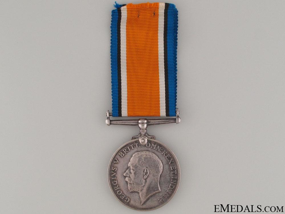 eMedals-WWI British War Medal - Western Ontario Reg.