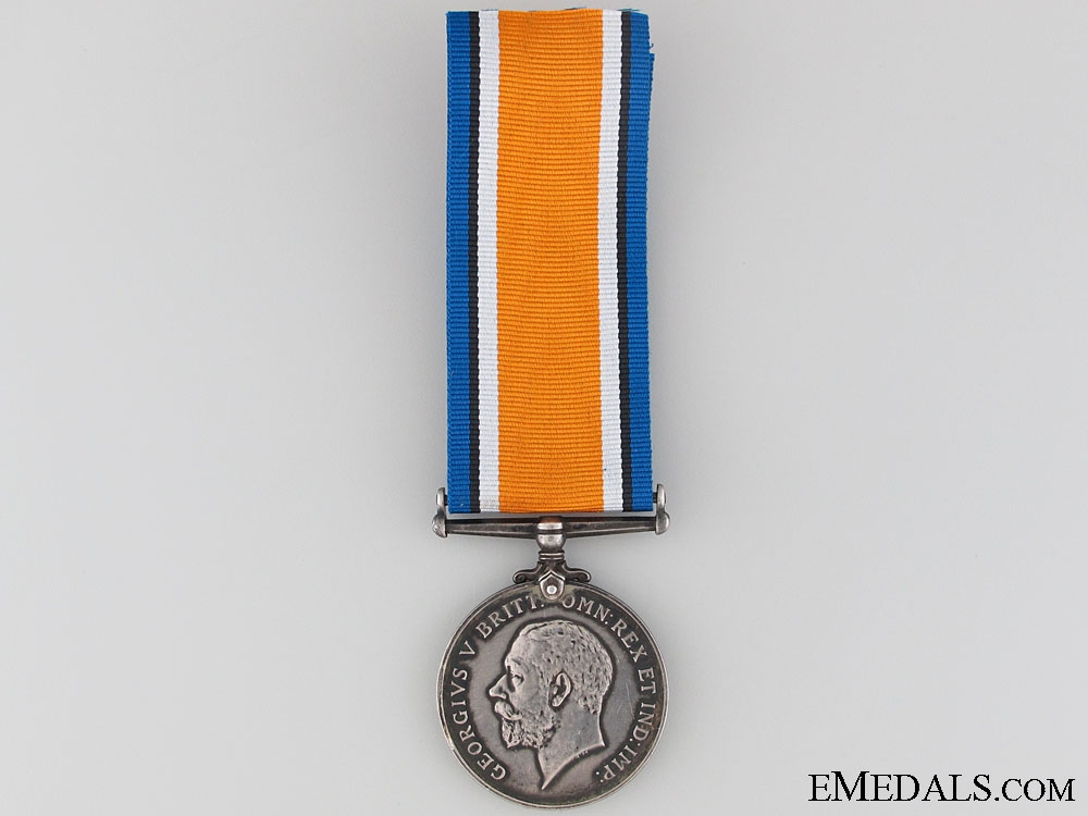 eMedals-WWI British War Medal to 2nd Lieut. Pownall