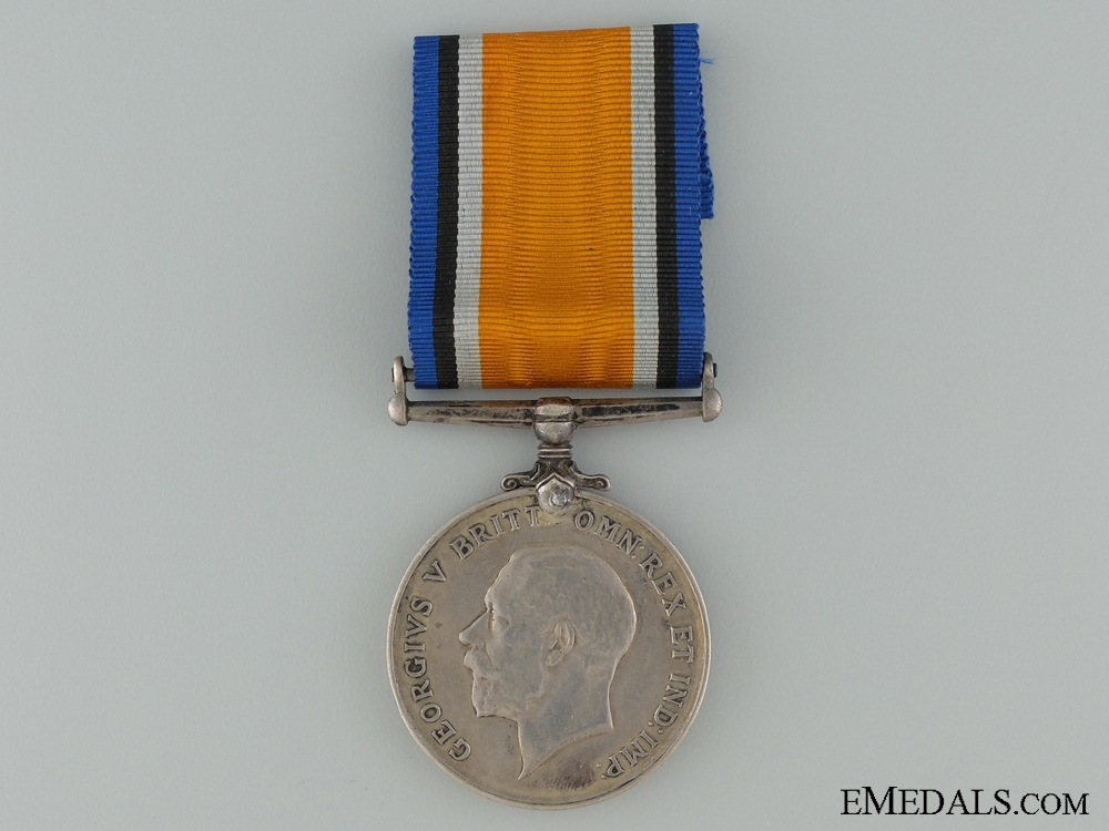 eMedals-WWI British War Medal to the Royal Naval Canadian Volunteer Reserve