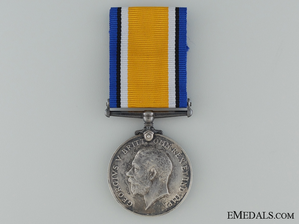 eMedals-WWI British War Medal to the W.O.R.
