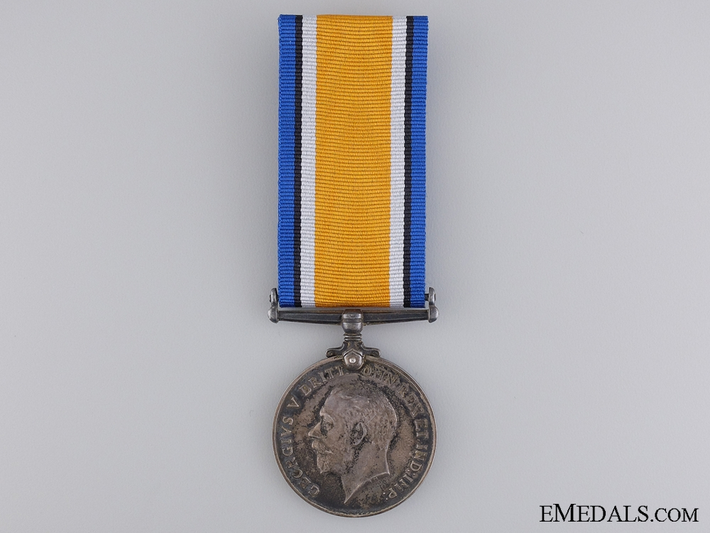 eMedals-WWI British War Medal to the King's Royal Rifle Corps