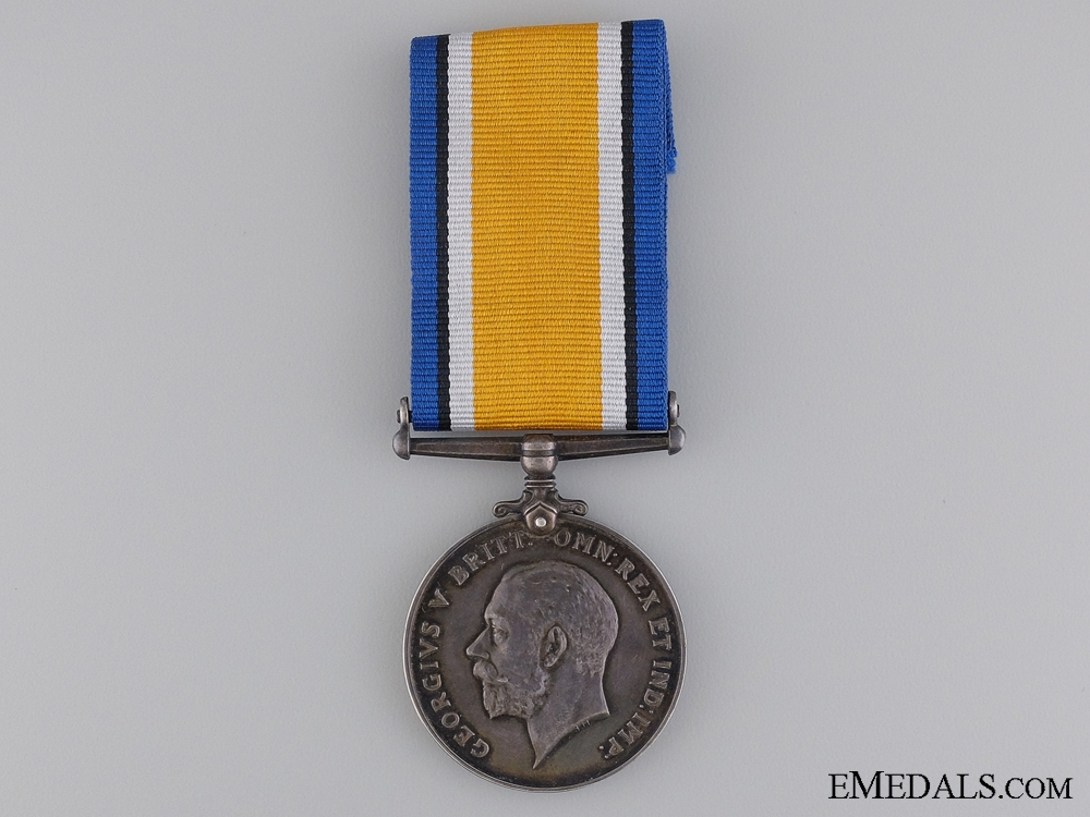 eMedals-WWI British War Medal to the Canadian Forestry Corps