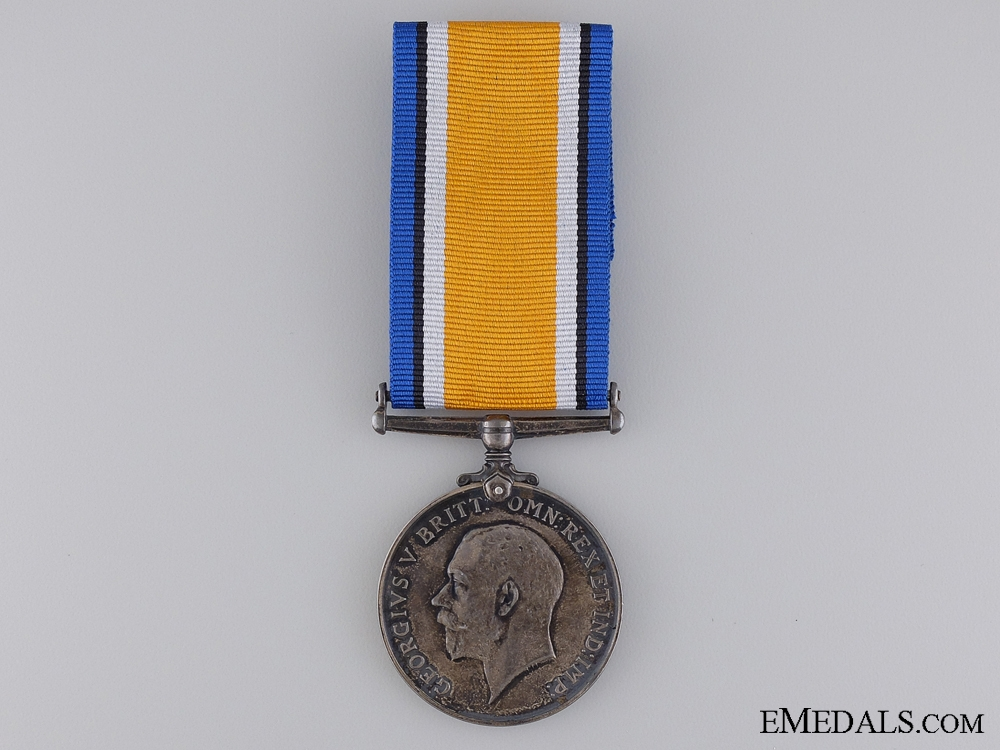 eMedals-WWI British War Medal to the 54th Canadian Infantry