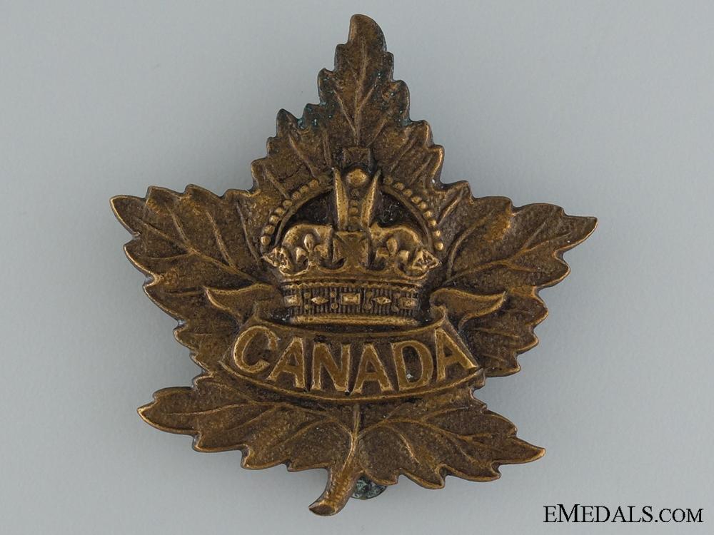 eMedals-WWI Canada General Service Cap Badge CEF