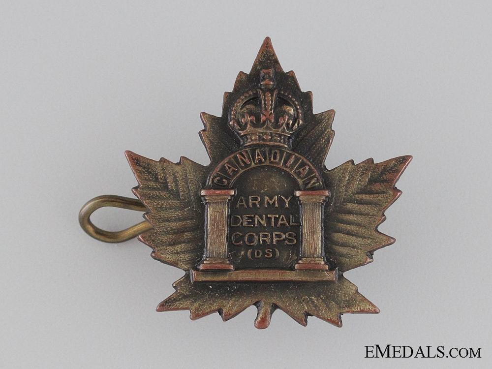 eMedals-WWI Canadian Army Dental Corps Collar Tab