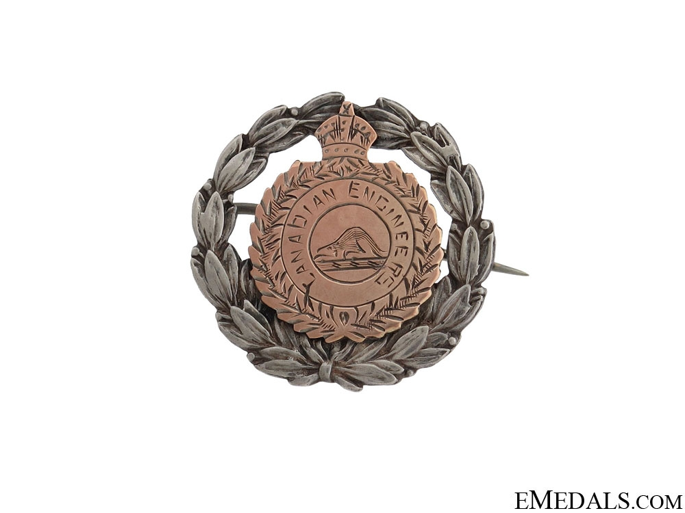 eMedals-WWI Canadian Engineers Pin CEF
