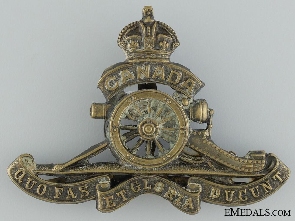 eMedals-WWI Canadian Field Artillery Cap Badge