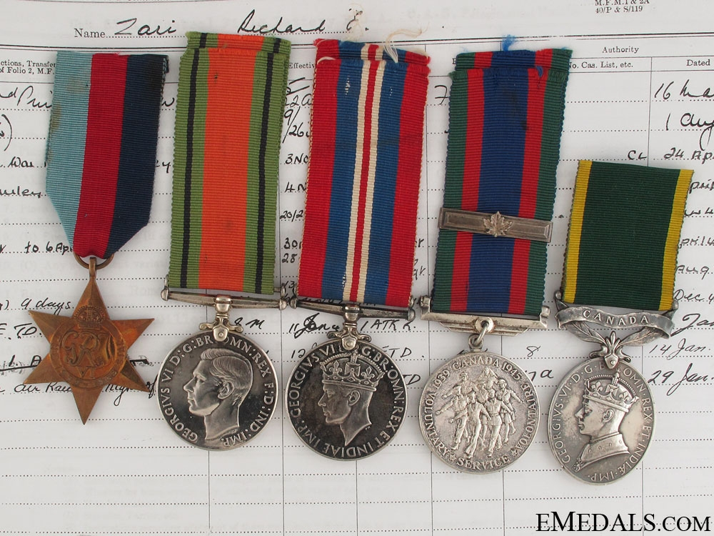 eMedals-WWI Canadian Group - Killed in Enemy Air Raid