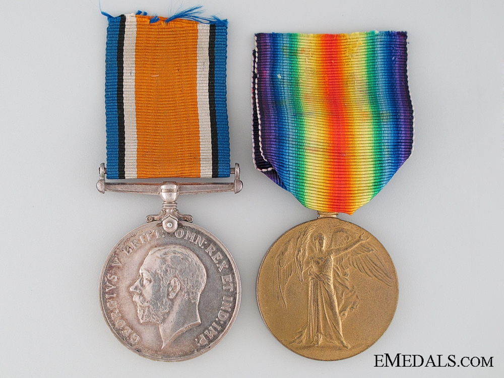 eMedals-WWI Canadian Pair to the Army Service Corps