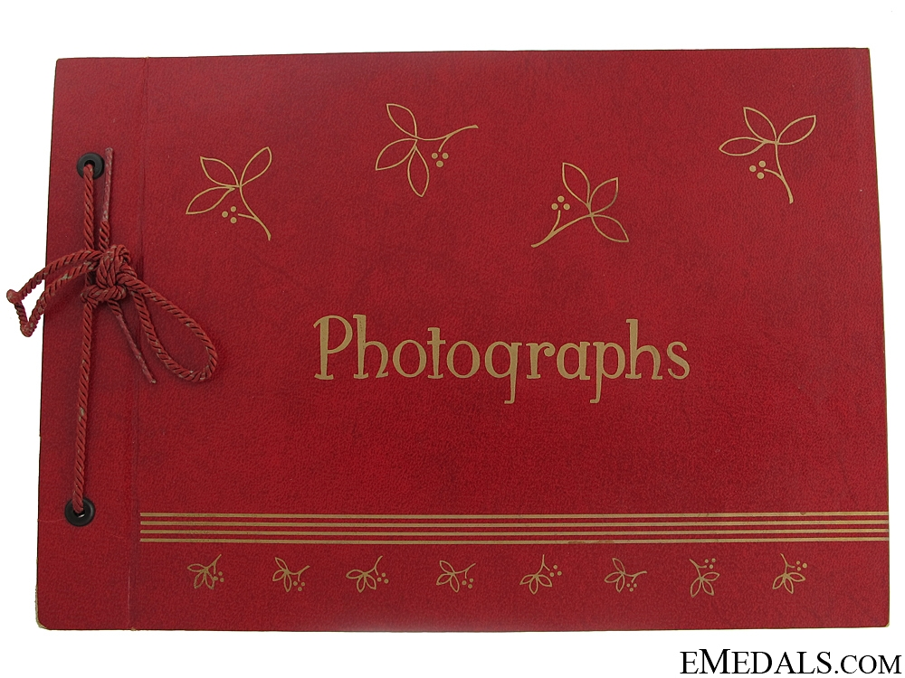 eMedals-WWI Canadian Vimy Photograph Album