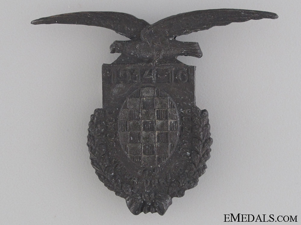 eMedals-WWI Croatian Devil's Division Badge