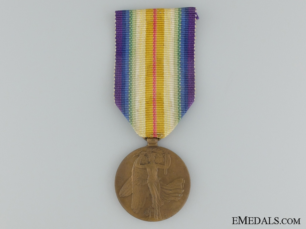 eMedals-WWI Czechoslovakian Victory Medal; Type I