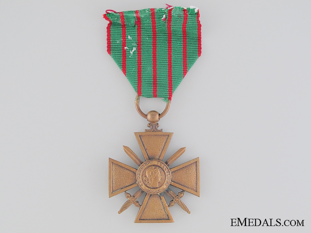 eMedals-WWI French War Cross 1914-1918
