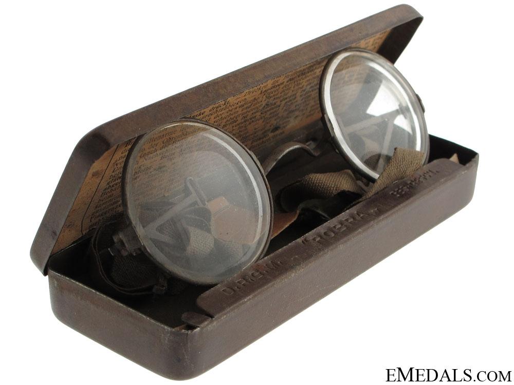 """eMedals-WWI German """"Maskenbrille"""" Eyeglasses for Gas Masks"""