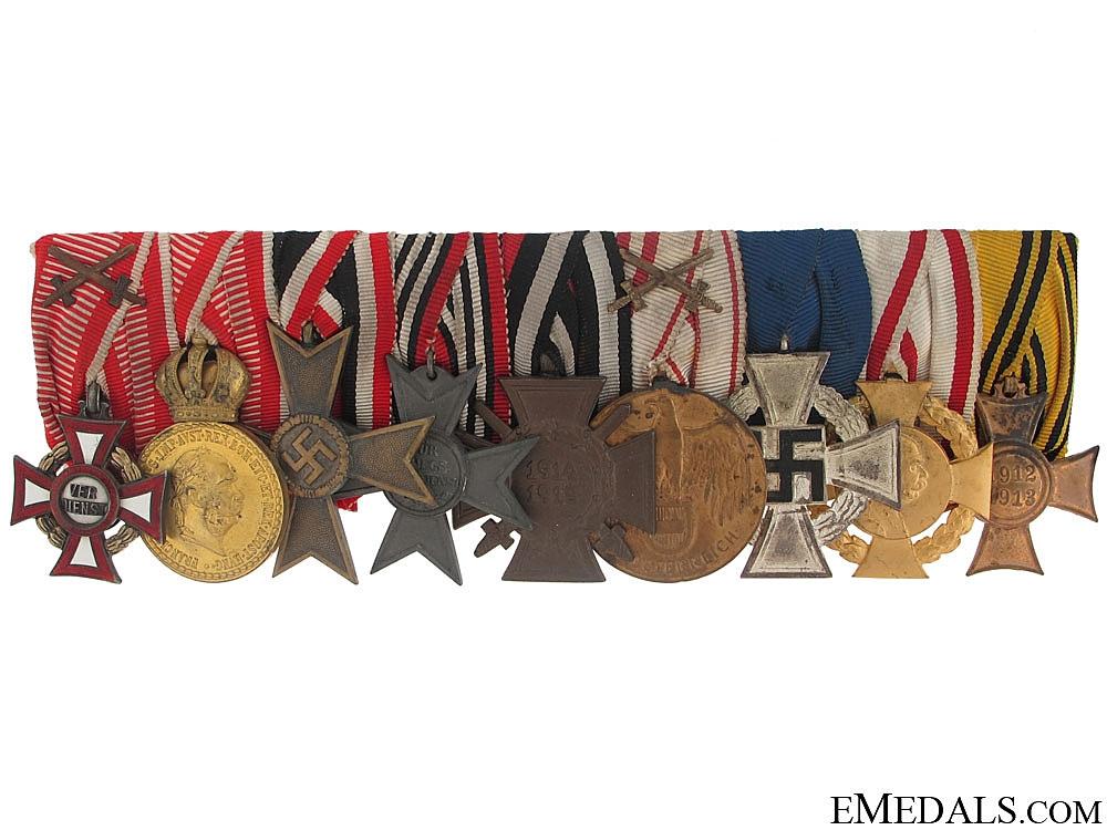 eMedals-WWI German-Austrian Medal Bar