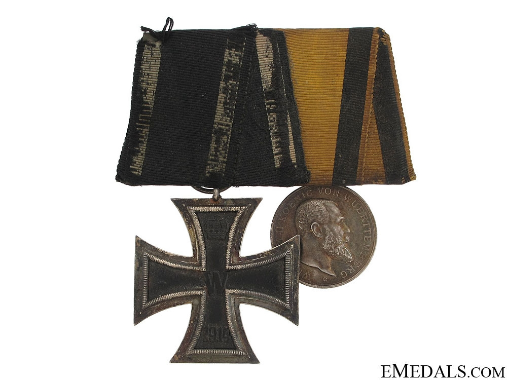 eMedals-WWI German Bravery Pair