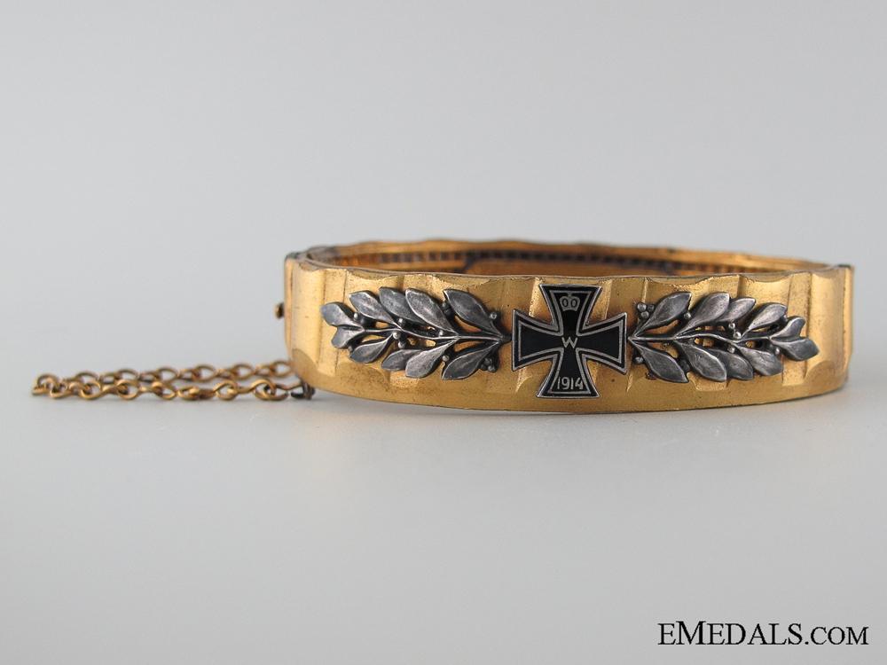eMedals-WWI German Patriotic Iron Cross Bracelet