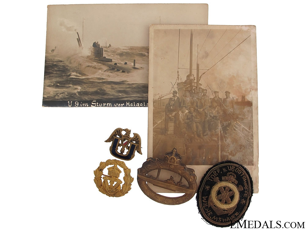 eMedals-WWI German U-Boat Group