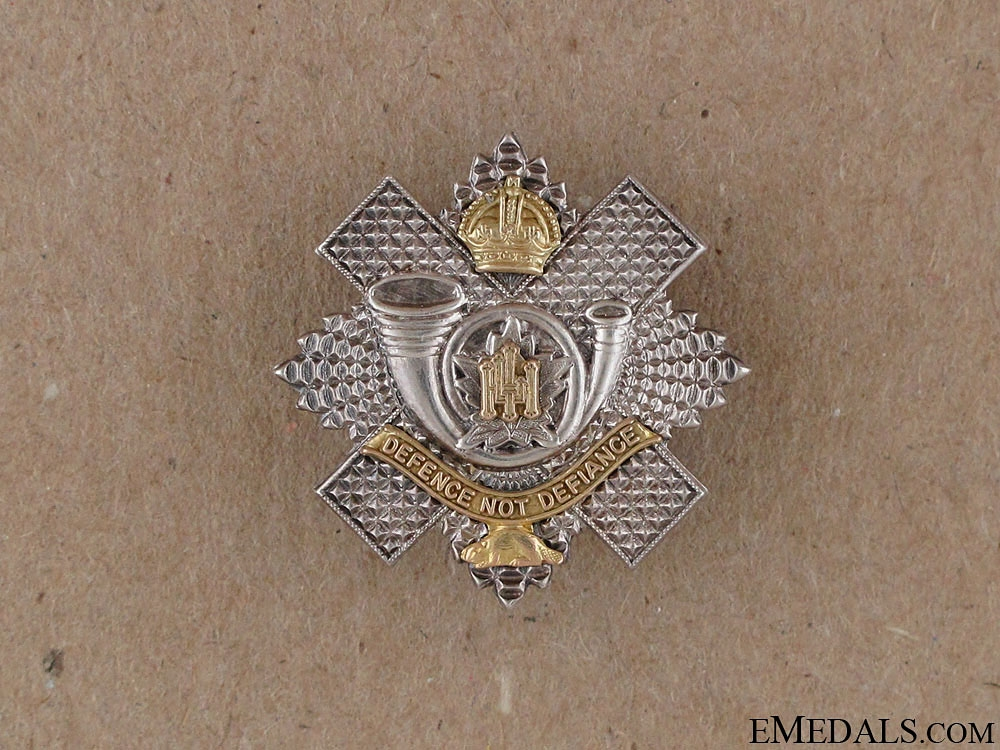 eMedals-WWI Highland Light Infantry of Canada Pin