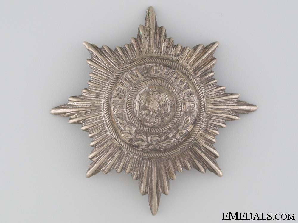 eMedals-WWI Infantry Helmet Plate Centrepiece