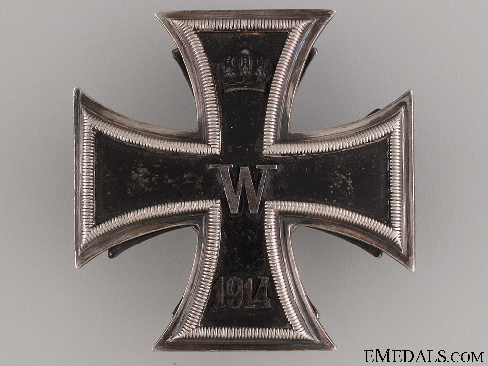 eMedals-WWI Iron Cross 1st Class 1914 by D.R.G.M.