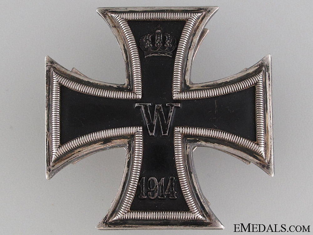eMedals-WWI Iron Cross 1st Class 1914 by Meybauer