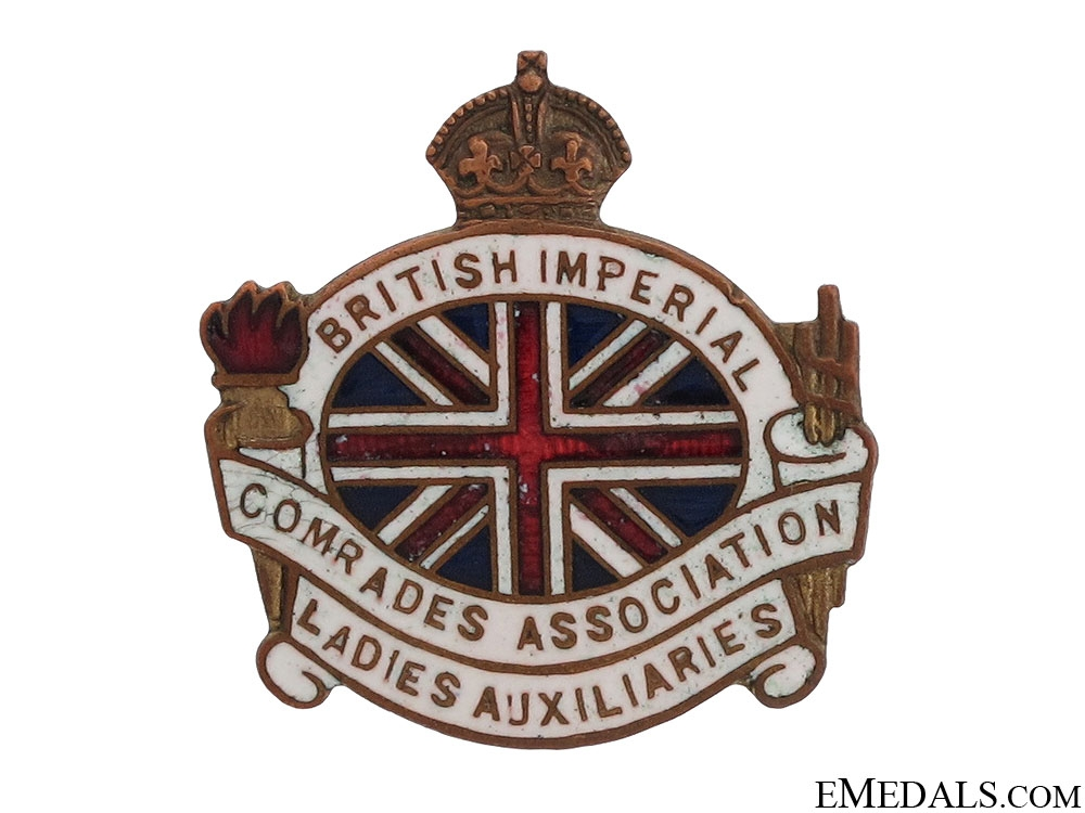 eMedals-WWI Ladies Auxiliaries Association Pin
