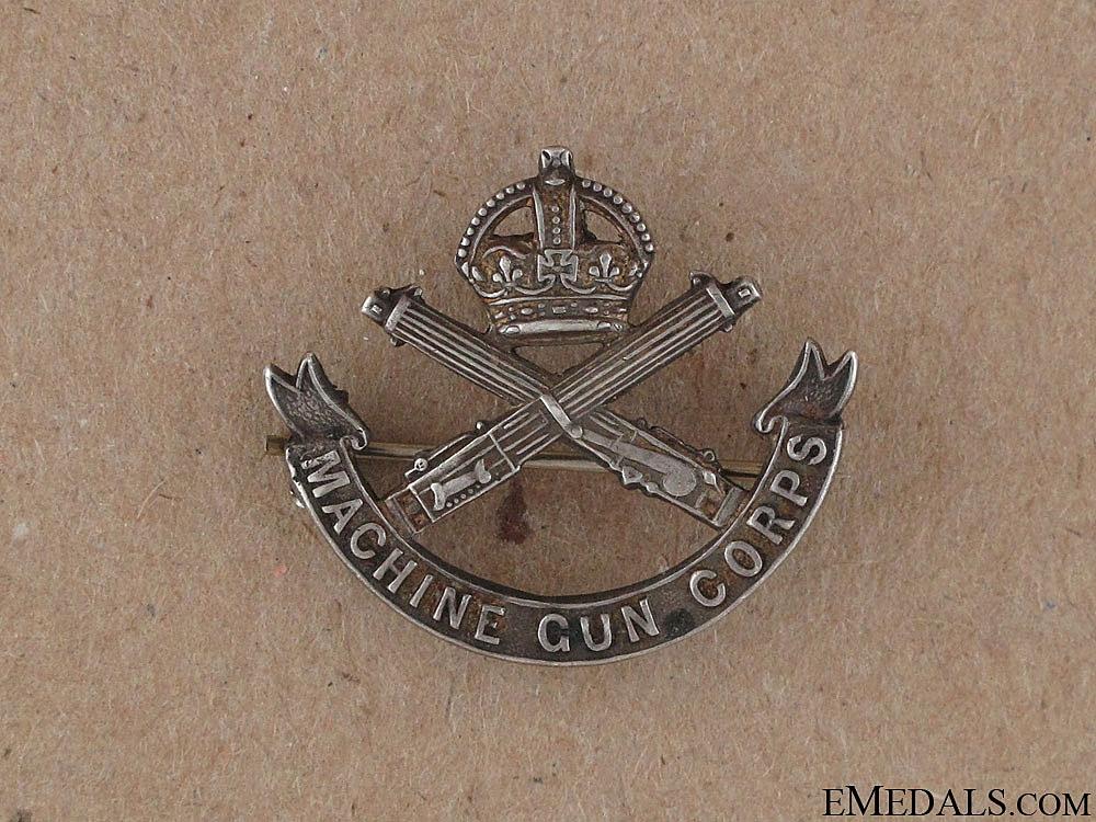 eMedals-WWI Machine Gun Corps Sweetheart Pin