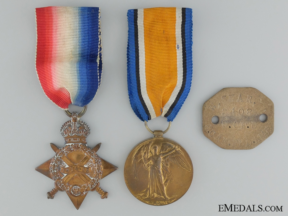 eMedals-WWI Medals & ID Tag to the Canadian Army Medical Corps