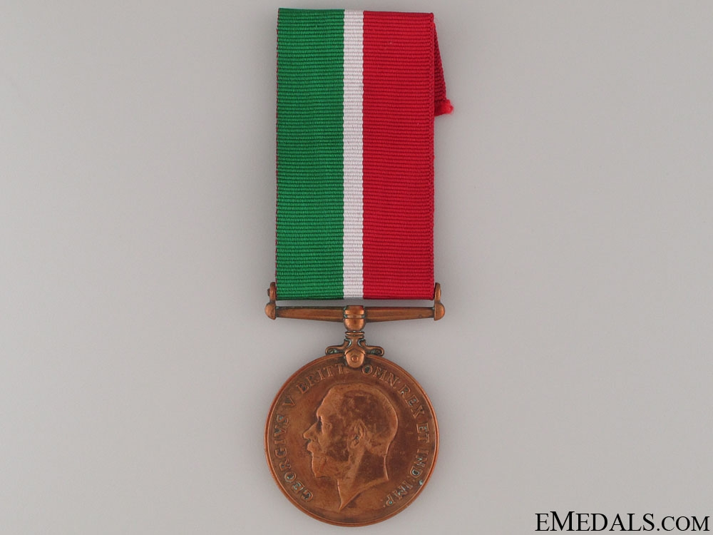 eMedals-WWI Mercantile Marine War Medal